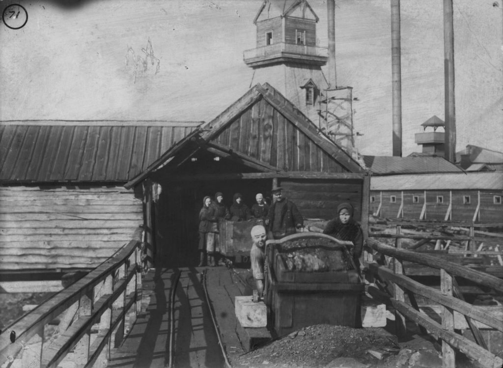 Кемеровский коксохимзавод, 1920-е годы.