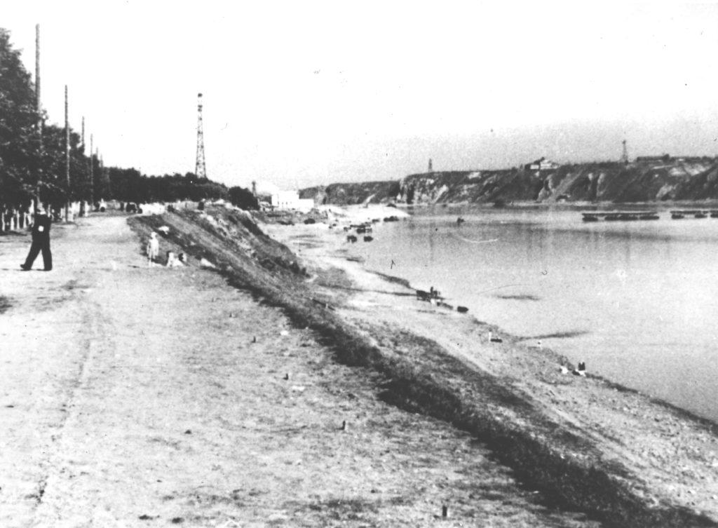 Притомская набережная г.Кемерово, 1930-1940 гг.