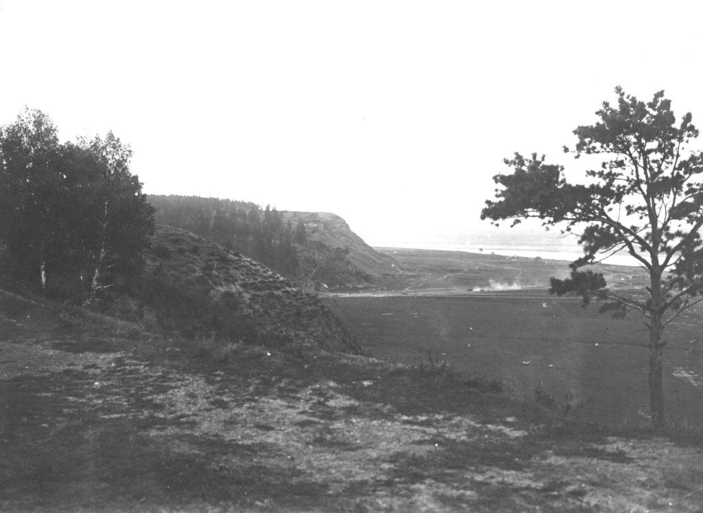 Вид на г.Кемерово с Красной горки, 1933 г.