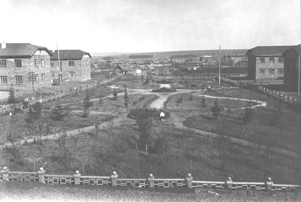 Первый квартал соцгорода, 1933 г.
