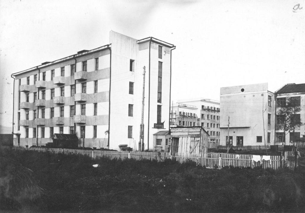 Застройка Притомского участка. Жилые дома, 1932 г.