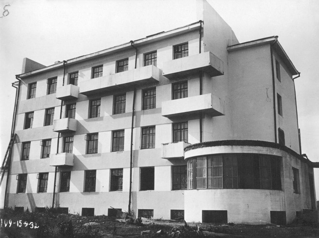 Застройка Притомского участка. Гостиница, 1932 г.