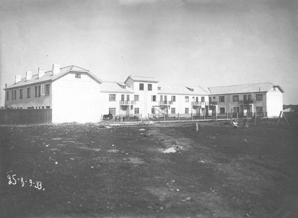 Один из первых домов соцгорода, 1933 г.