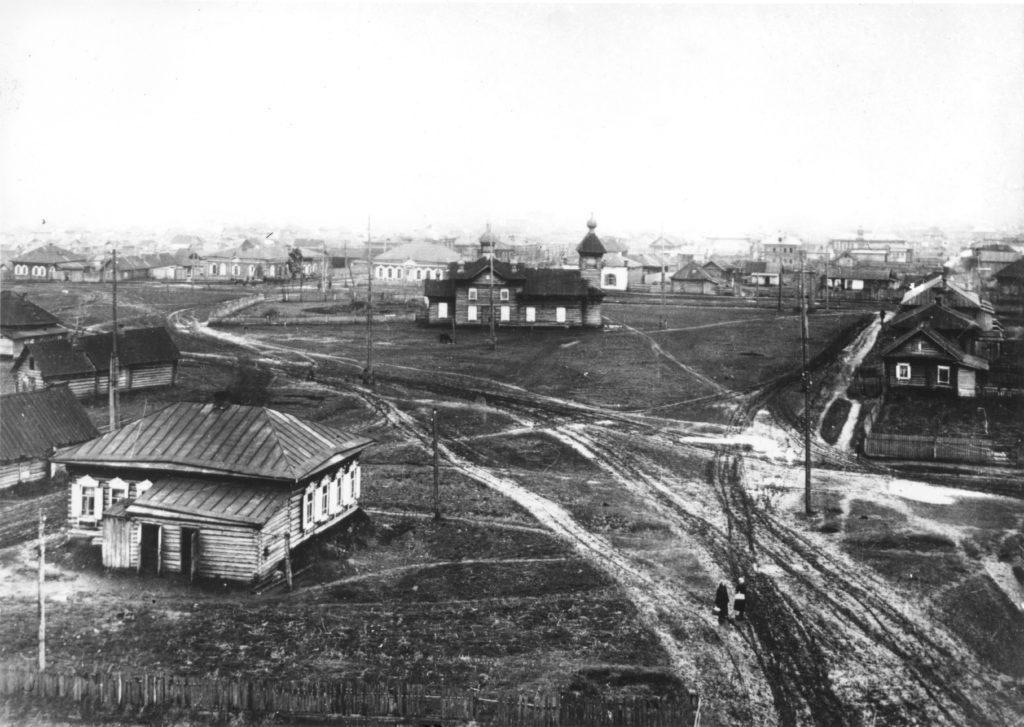Центральная часть г.Кемерово. 1935 г.