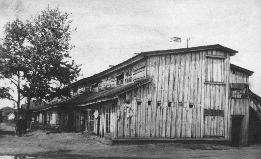 Жилые бараки рабочих КХЗ, 1931 г.