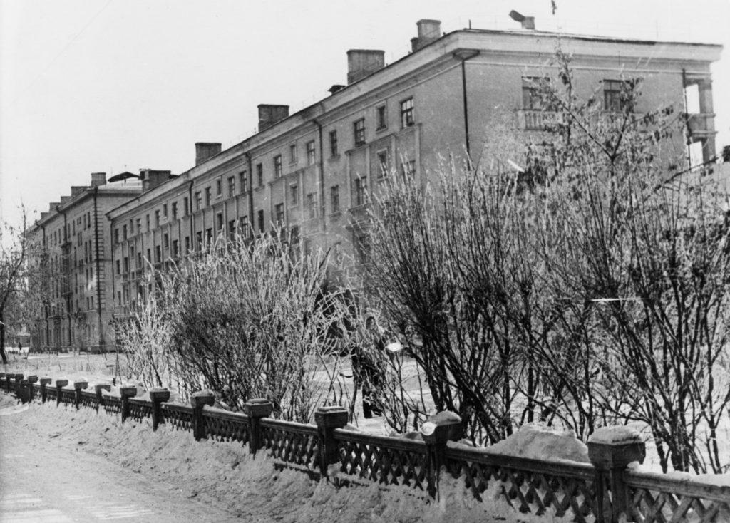 Улица Островского, 1946 г.