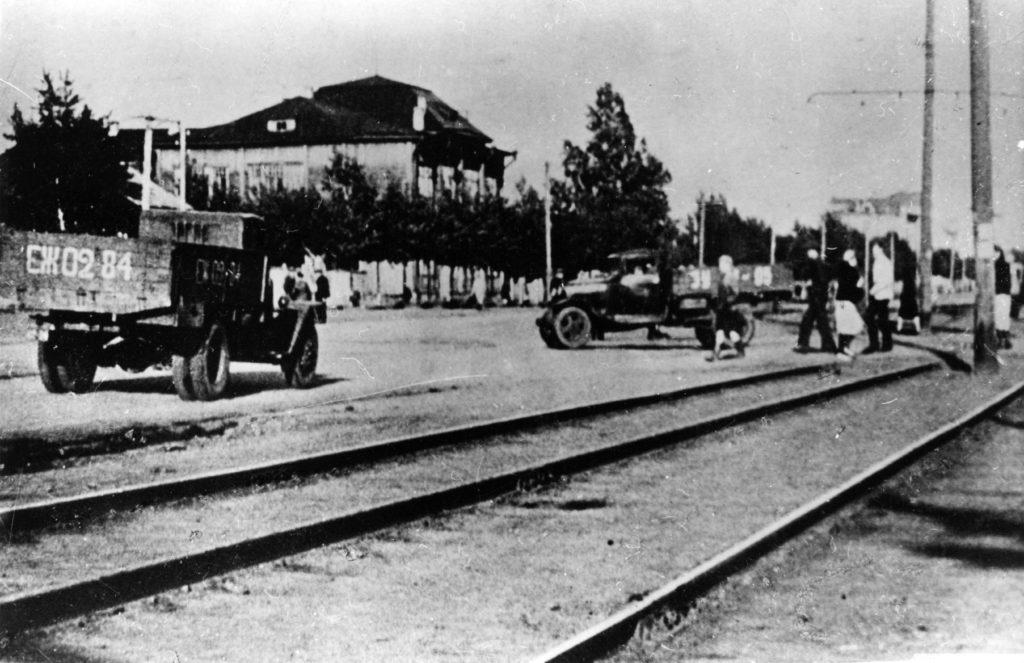 Улица Советская (сейчас  пр.Советский ), 1941 г.
