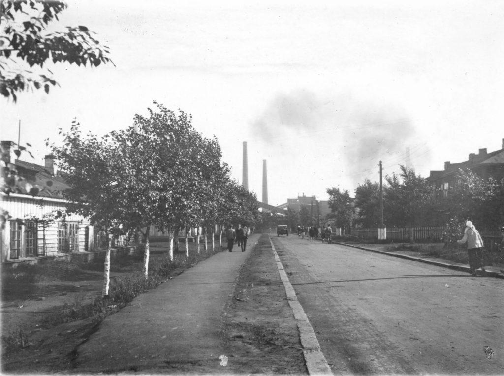 Коксовый переулок Новой колонии, 1947 г.