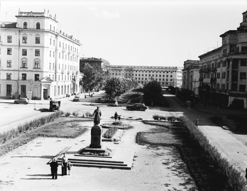 Площадь Пушкина, 1957 г.