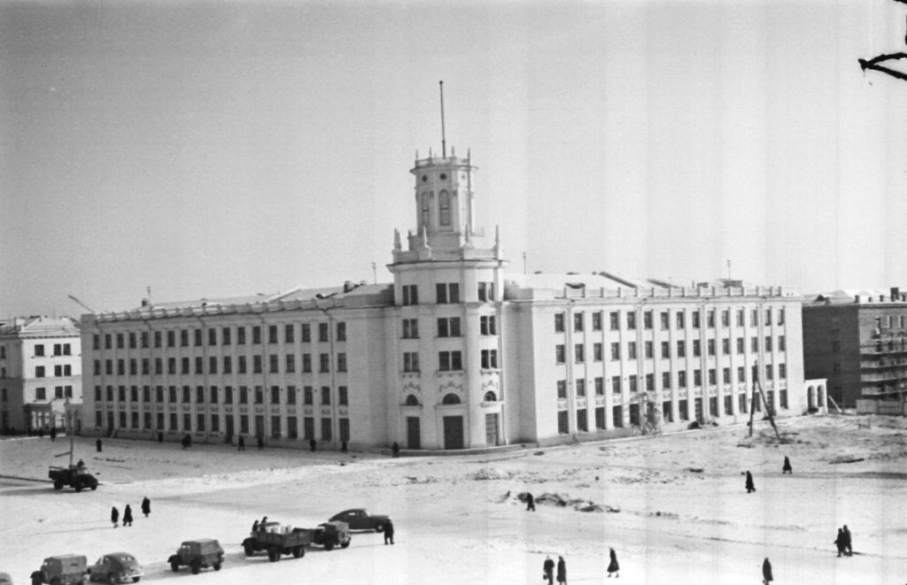 Здание главпочтамта в г.Кемерово, 1956 г.