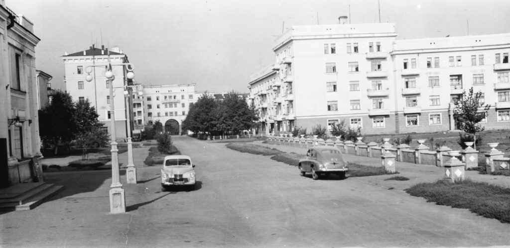 Улица Ермака. 1951 г.
