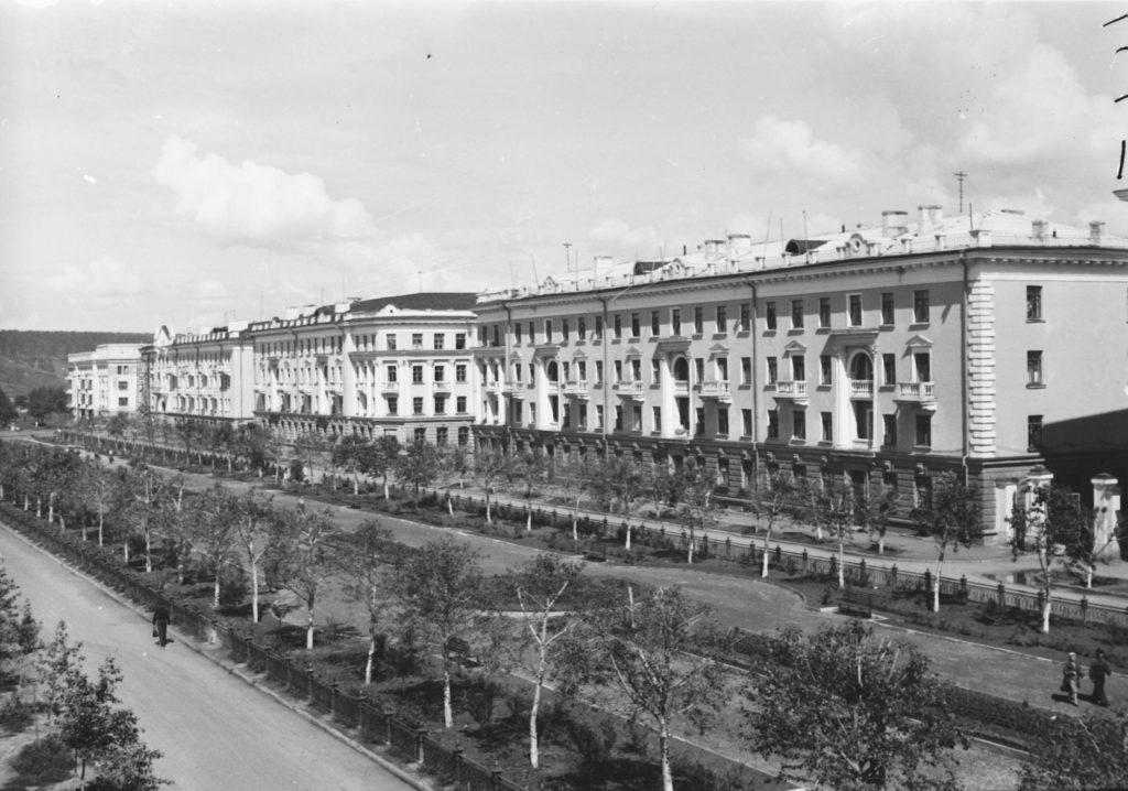 Улица Весенняя, 1953 г.