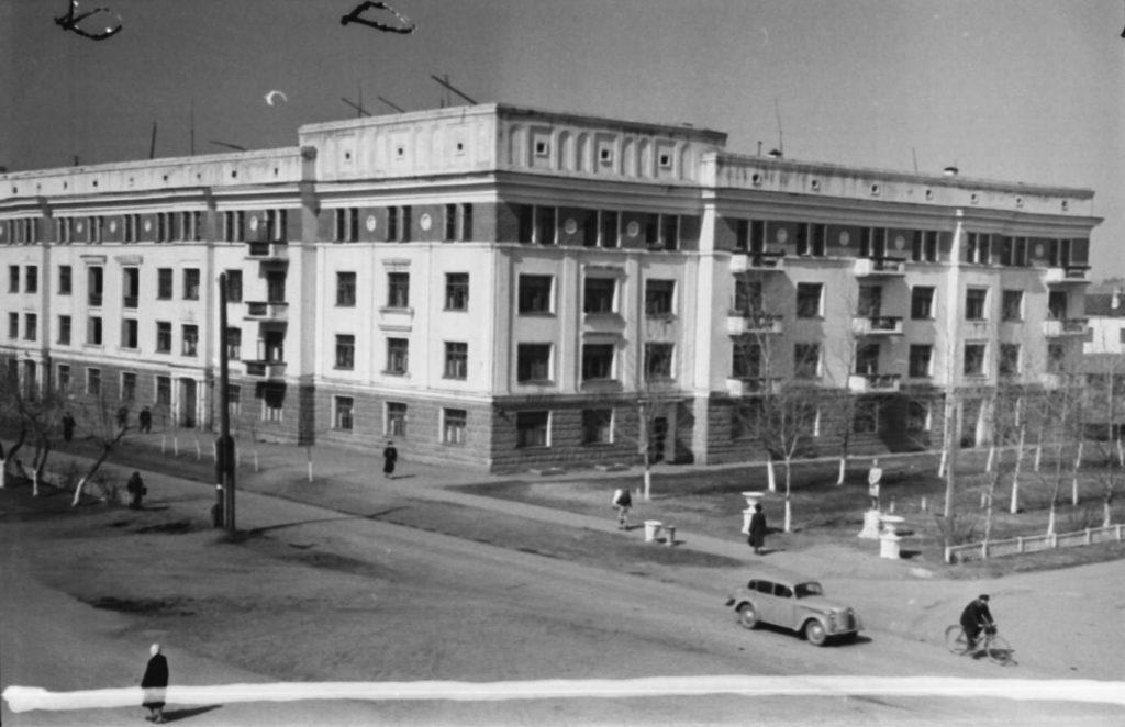 Улица Островского, 1955 г.
