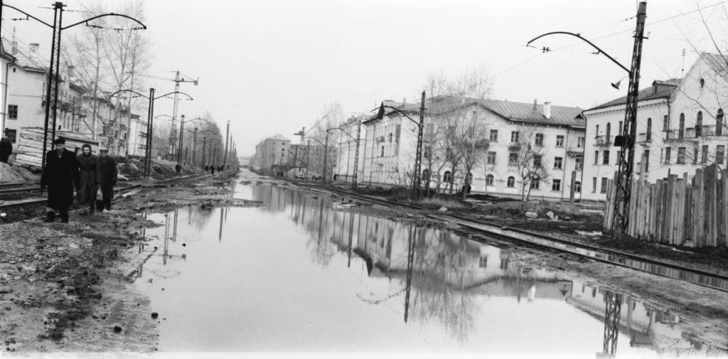 Улица Дзержинского, 1959 г.