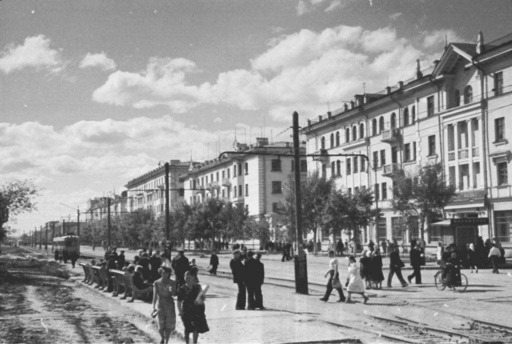 Улица Советская (сейчас пр. Советский), 1956 г.