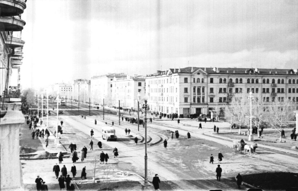Улица Советская (сейчас пр.Советский), 1957 г.