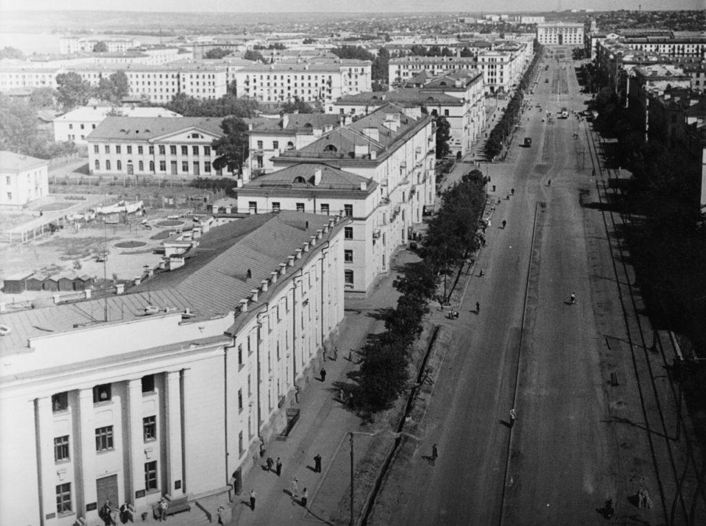 Советский проспект, 1957-1960 гг.