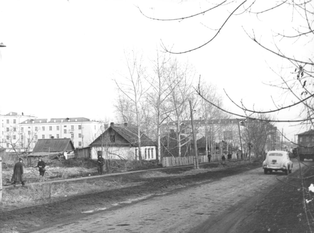 Улица Сталина (сейчас ул. Ноградская), 1953 г.