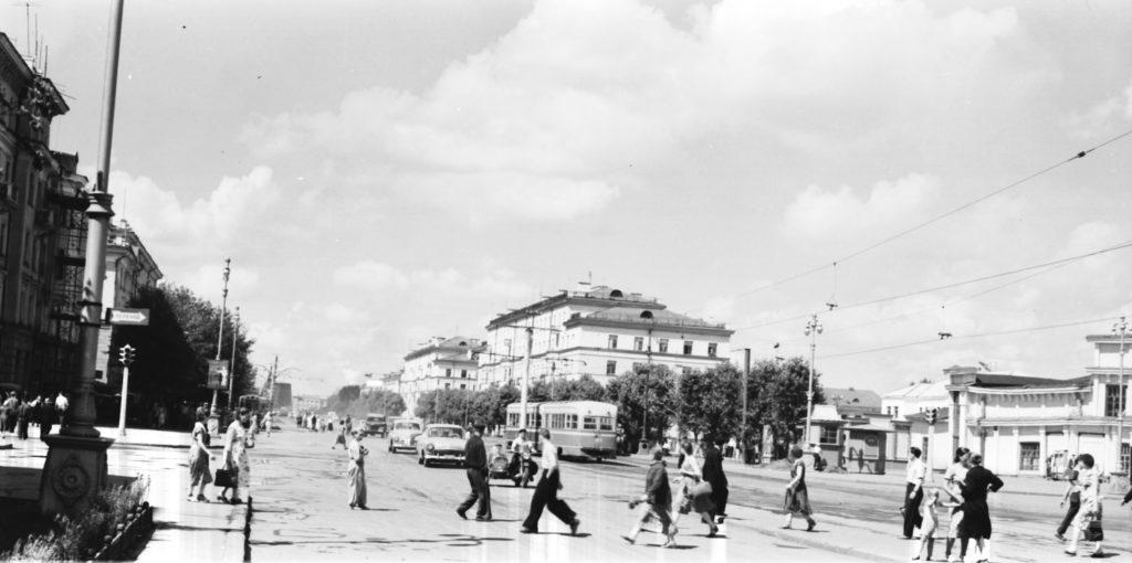 Проспект Советский, 1959 г.