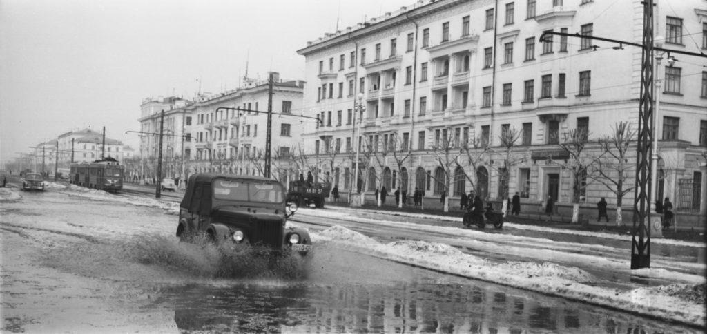 Проспект Советский, 1950-е годы.