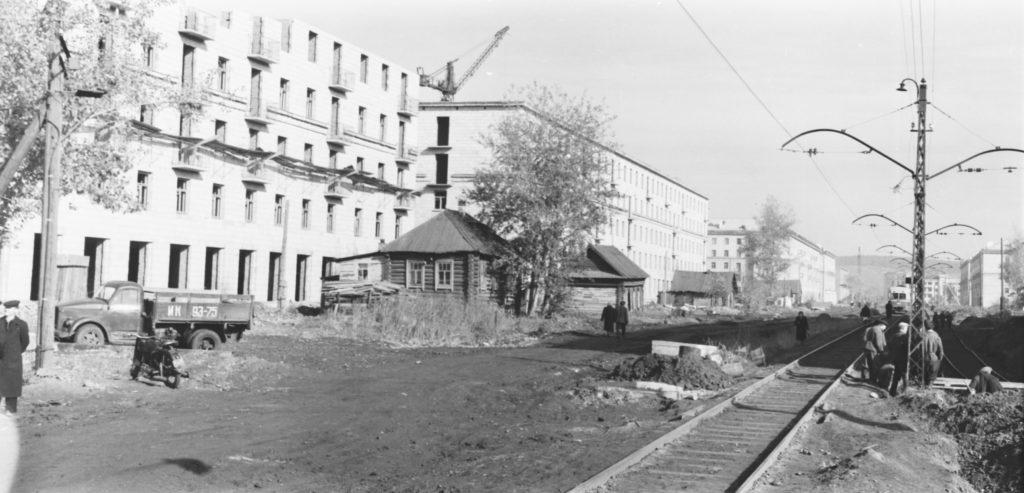 Улица Весенняя, 1950-е годы.