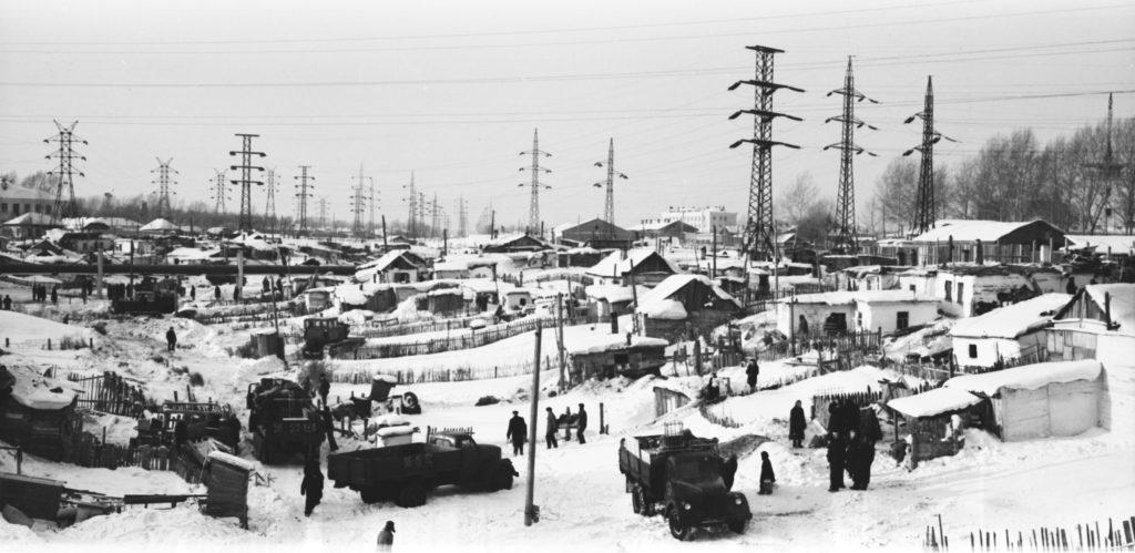 Щетинкин лог, 1954-1962 гг.