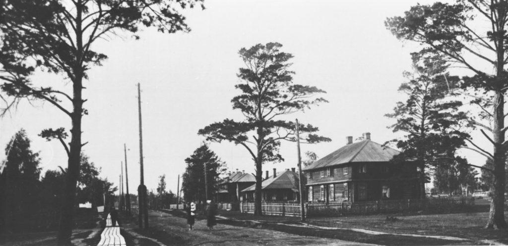 Рудничный район Красная горка, 1950-е годы.