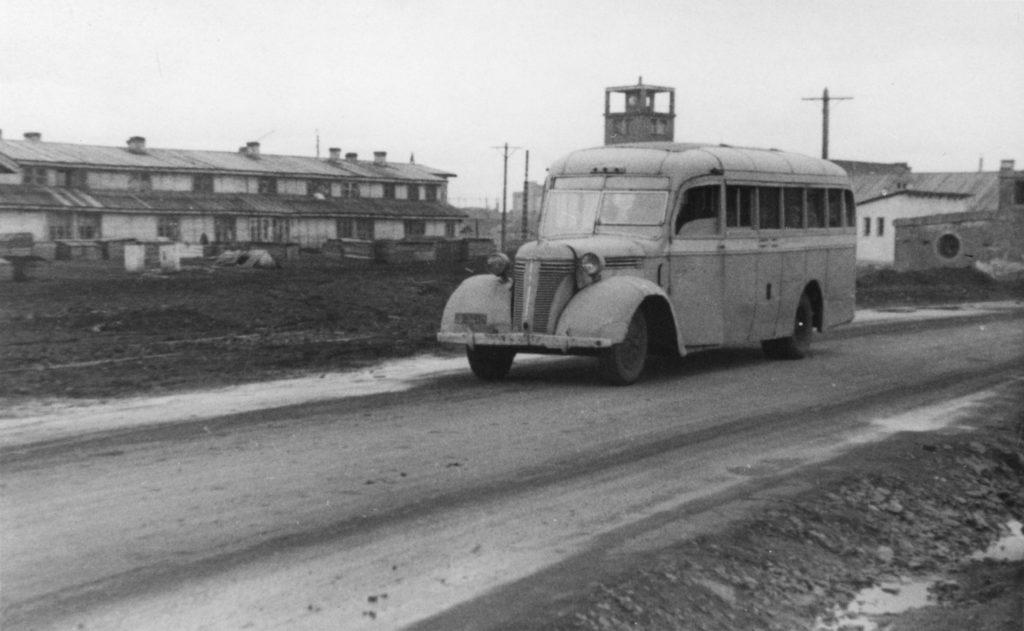 Автобус, 1950-е годы.
