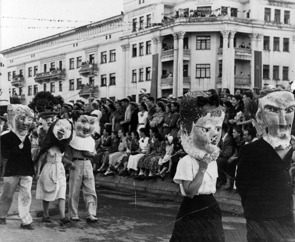 Первый Всекузбасский фестиваль молодежи, 1957 г.