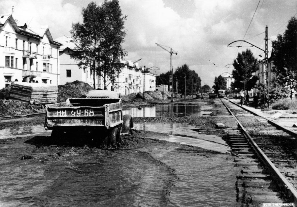 Улица Дзержинского, 1958 г.