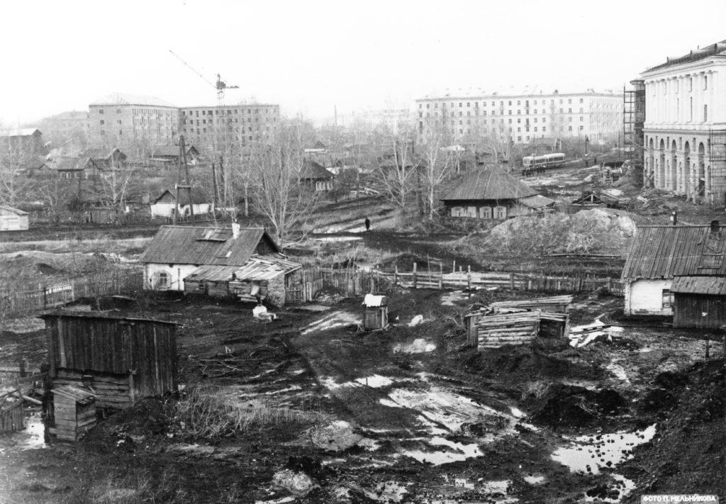 Площадь Волкова, 1957 г.