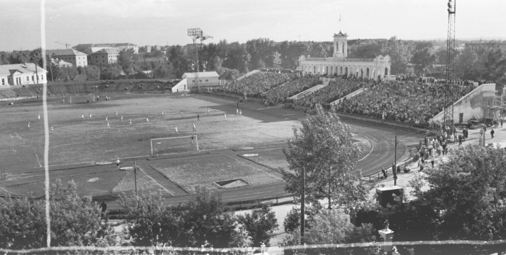 Стадион Химик в г. Кемерово, 1960 г.