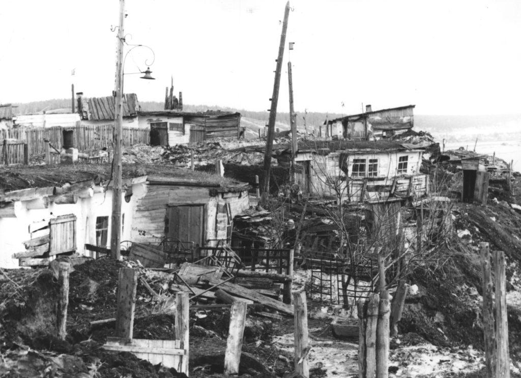 Больничный лог г. Кемерово, 1960 г.