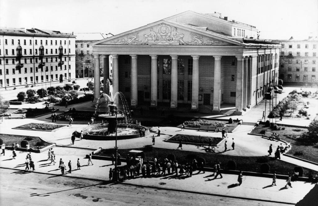 Областной драматический театр, 1960-е годы.
