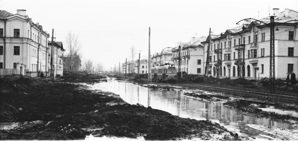 Улица Дзержинского, 1960 г.