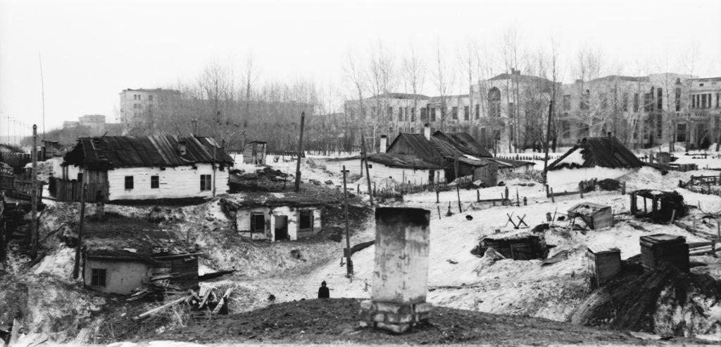 Вид центральной городской больницы N3, 1960 г.