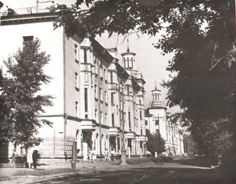Улица Островского, 1967 г.