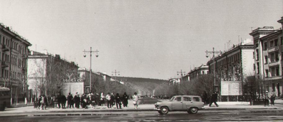 Улица Весенняя, 1960-е годы.