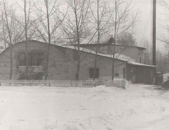 Баня, построенная АИК Кузбасс на Красной Горке в Рудничном районе в 1925г., 1968 г.