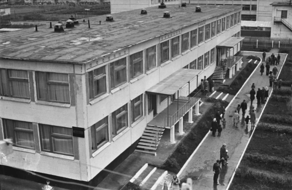 Открытие детского комбината в Ленинском районе г. Кемерово, 1977 г.