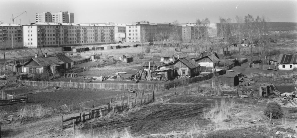 Улица Мичурина, 1970-е годы.