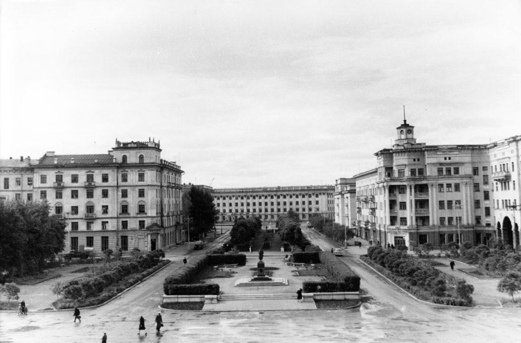Площадь Пушкина, 1970-е годы.