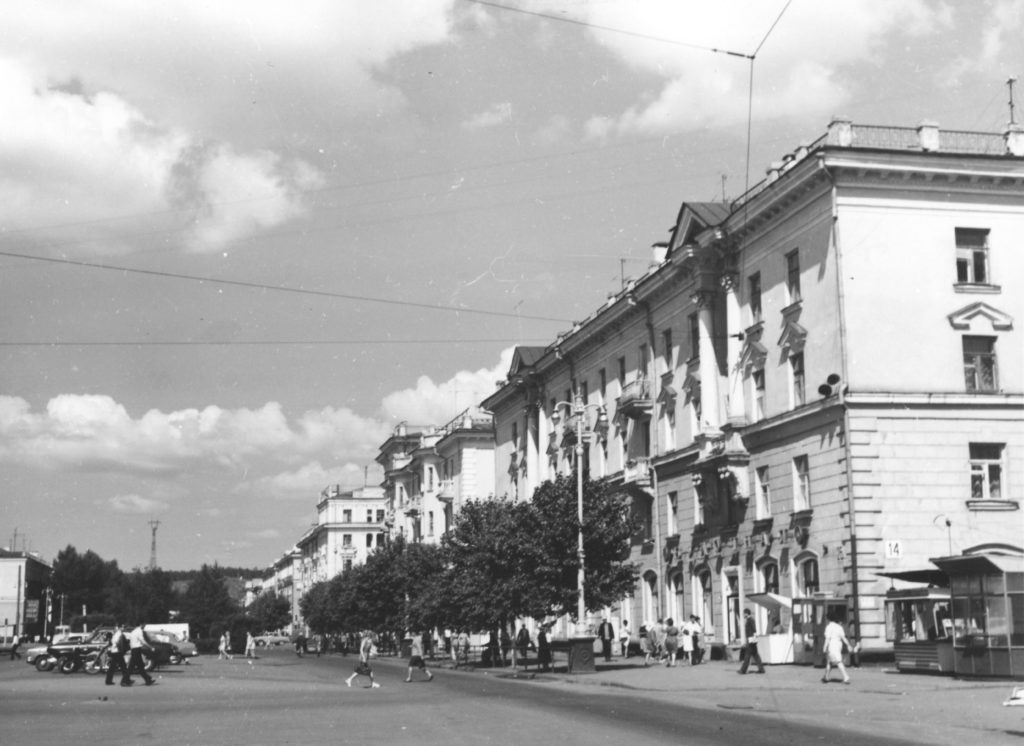 Улица Кирова, 1970-е годы.