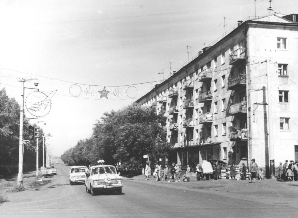 Улица Тухачевского, 1970-е годы.