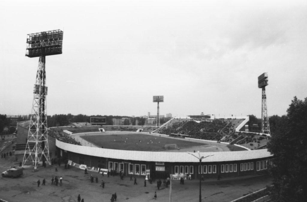 Городской стадион Химик, 1970-е годы.