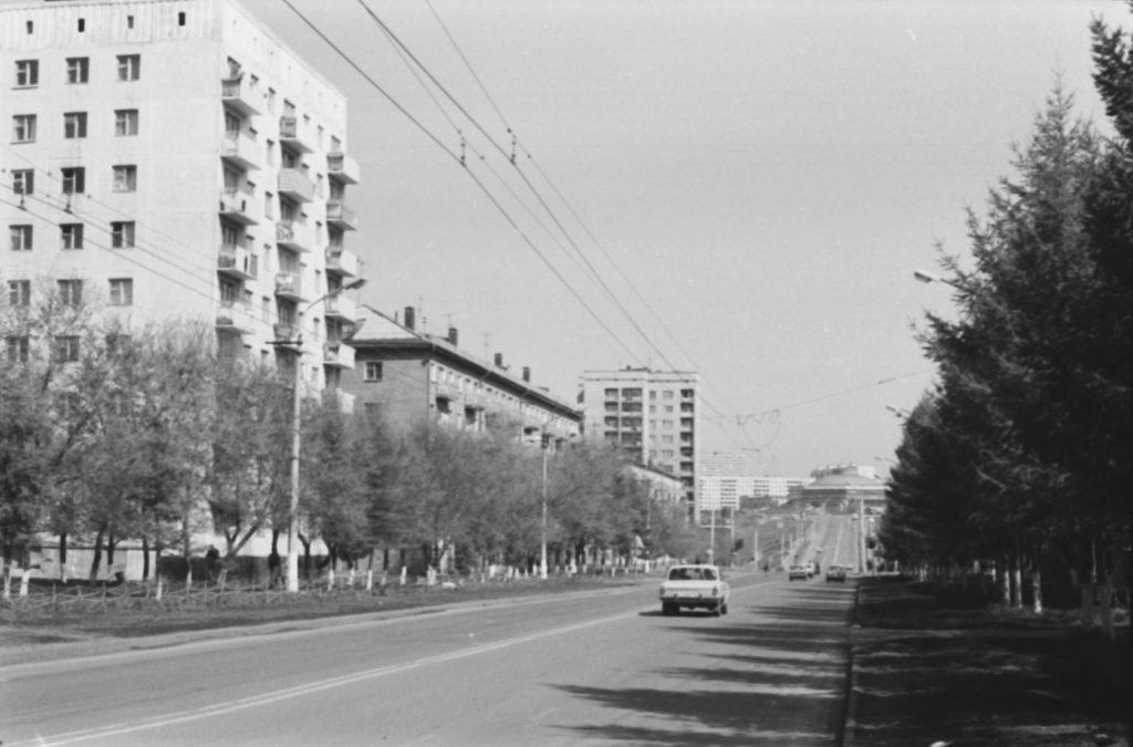 Улица Красноармейская, 1970-е годы.