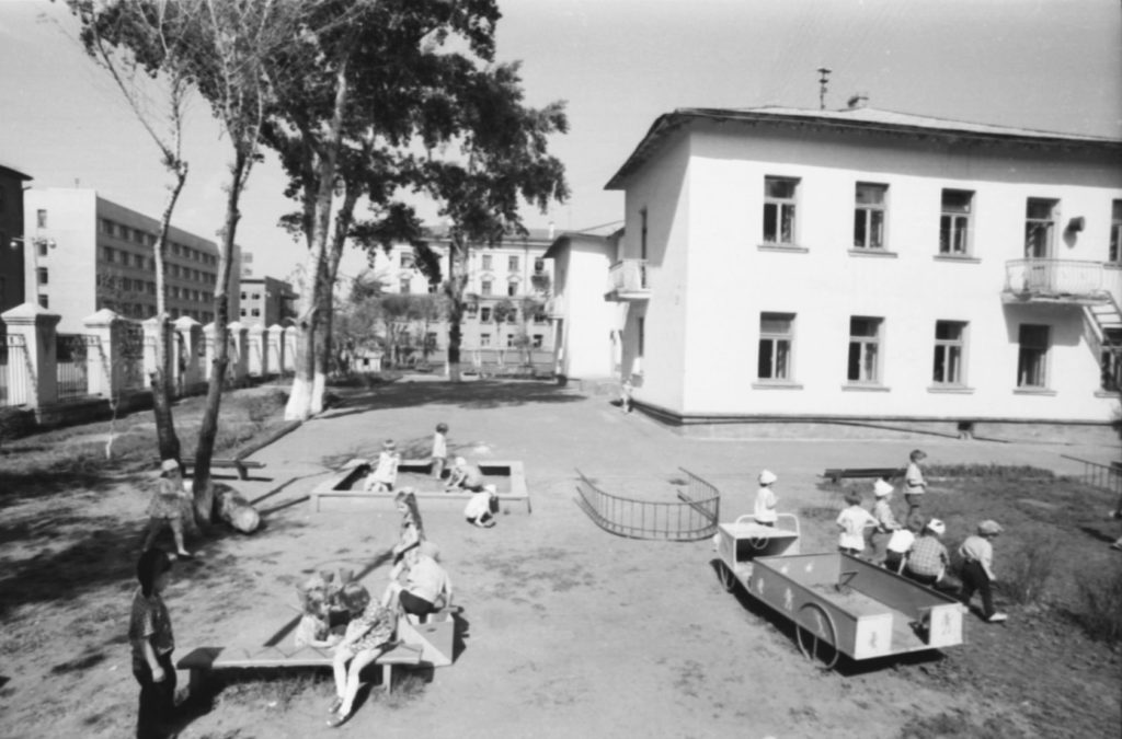 Детский сад (ул. Ноградская), 1979 г.
