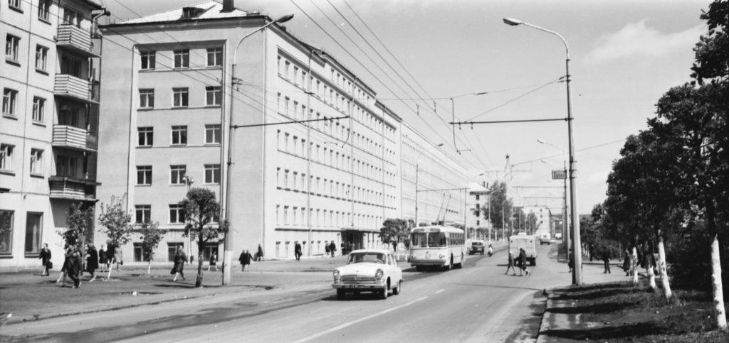 Улица 50-лет Октября, 1970-е годы.