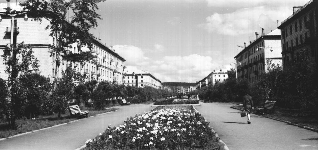Улица Весенняя, 1970-е годы.