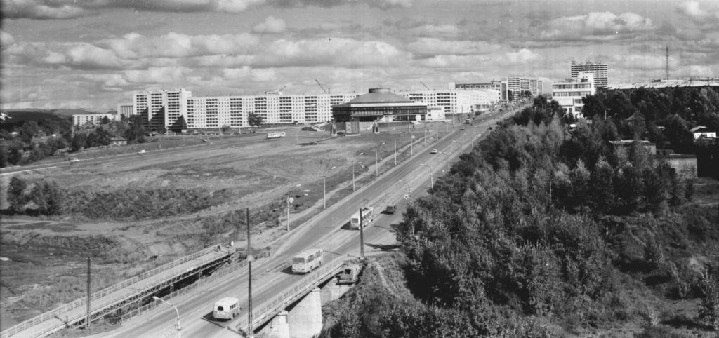 Искитимский мост, 1977 г.